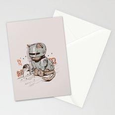 Robocat Stationery Cards