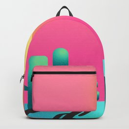 Cactus sunset Backpack