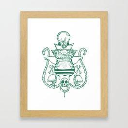 Captain Nicetits Framed Art Print