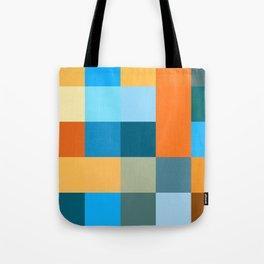 Squares III Tote Bag