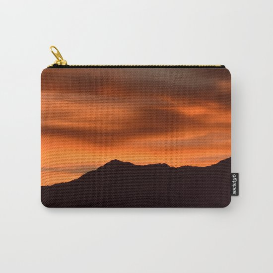 SW Orange Mountain Sunrise Carry-All Pouch