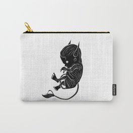 Little Devil (black version) Carry-All Pouch