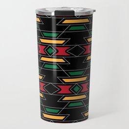 Native Rasta Pattern Travel Mug