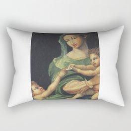 Roman Art - in Watercolor Rectangular Pillow