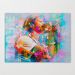 Travie McCoy Canvas Print