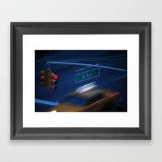 3rd Ave Framed Art Print