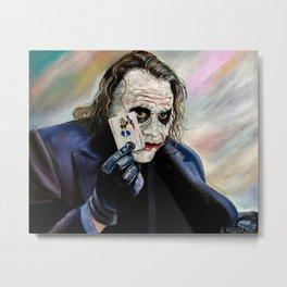 the Joker hahaha Metal Print