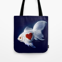 Fishy Knows It Best Tote Bag