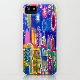 The Town Where I Was Born iPhone Case