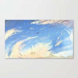 Energetic Clouds Canvas Print