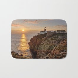 Cabo de Sao Vicente, sunset Bath Mat