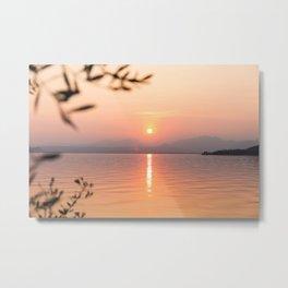 Lake Garda, Italy Metal Print
