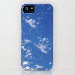 My Head In The Clouds iPhone Case