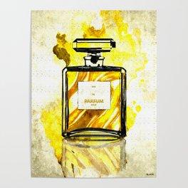 Parfum Gold Poster