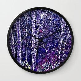 Winter Wonderland Wall Clock
