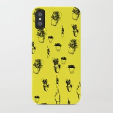 Plants and Planters botanical iPhone X Slim Case