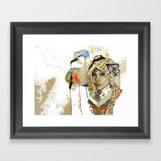 jennifer wip Framed Art Print