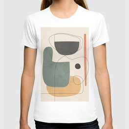 Abstract Minimal Shapes 25 T-shirt