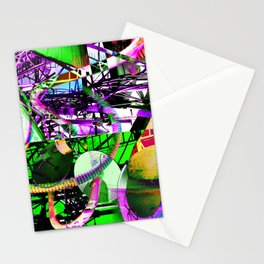 The Decant Dance of a Main Stream Depression Stationery Cards