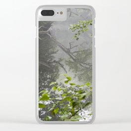 Foggy Morning Clear iPhone Case