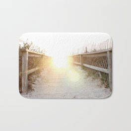 Maine Enterance to the Beach Bath Mat