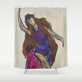 If You Knew Suzie Shower Curtain