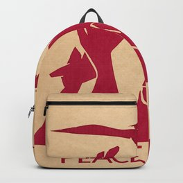 Peace Now Backpack