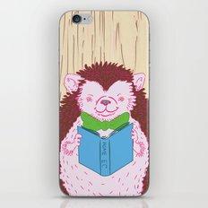 Grab a Book - Home Economics - Hedgehog Love iPhone & iPod Skin
