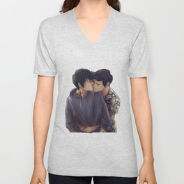 Malec backhug Unisex V-Neck