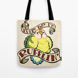 Rufflin' Tote Bag