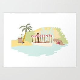 The Jungle Calls Art Print