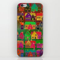 merry christmas iPhone & iPod Skins featuring Merry Christmas! by Klara Acel