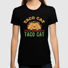 Taco Cat Funny Tacocat T-shirt