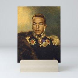Sir Chris Hoy - replaceface Mini Art Print