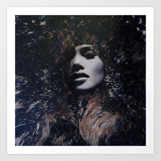 "CONSUMED: ""Fur"" Art Print"