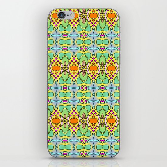 Bananas, Tangerines and Pistache! iPhone & iPod Skin