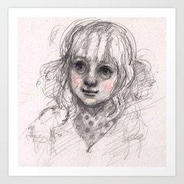 :3 Art Print