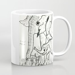 Never Forget Elephants Coffee Mug