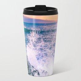 Surf Atlantic Rocky Coast Travel Mug