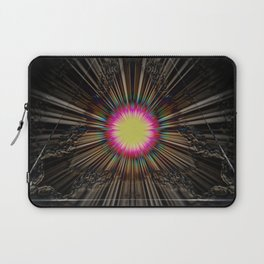 Triangle of light. Laptop Sleeve