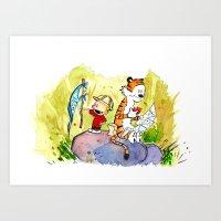 Adventures in Imagination Art Print