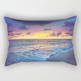 Sunset Foam Rectangular Pillow