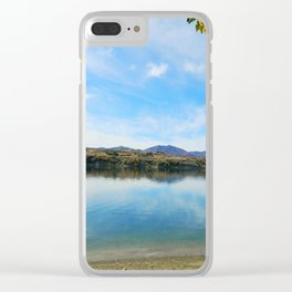 Hyrum Damn in the Spring Clear iPhone Case