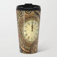 Steampunk, clockwork Travel Mug