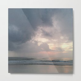 Pale Sunrise Metal Print