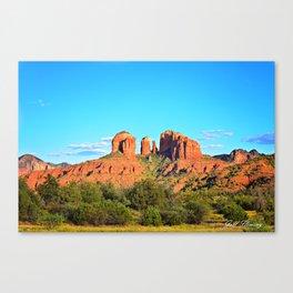 Cathedral Rock Sedona Arizona Canvas Print