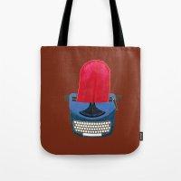 typewriter Tote Bags featuring Typewriter by gunberk