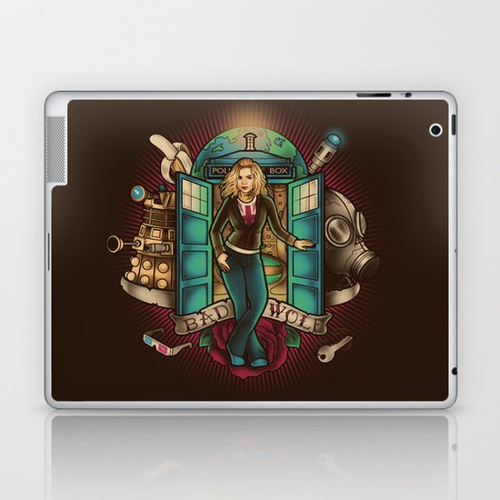 I am the Bad Wolf Laptop & iPad Skin