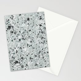Speckles Grey Stationery Cards