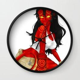 HellGirl Wall Clock